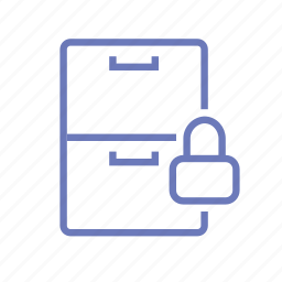 lock, mailbox, pobox, safe, security, storage icon