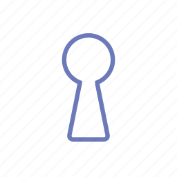 access, keyhole, lock, login, security icon