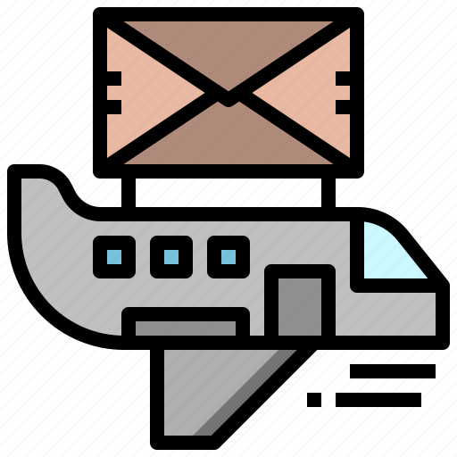 air, and, cargo, delivery, freight, plane, shipping icon