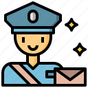 avatar, avatars, people, postman, profile, social, user icon
