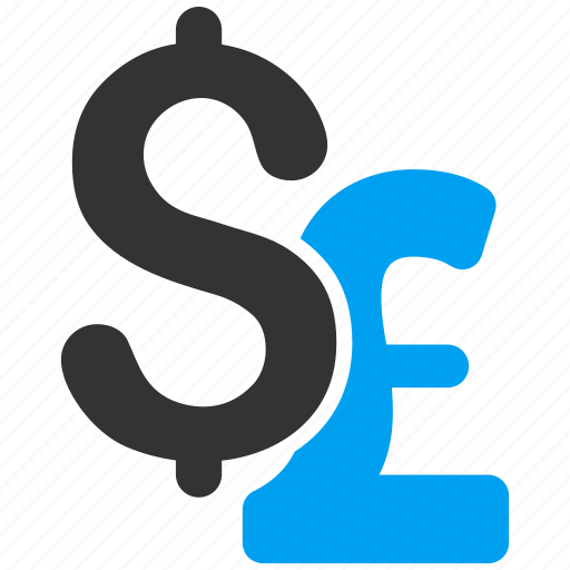 amrican dollar, bank, business, currency exchange, finance, money, pound sterling icon