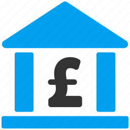 bank building, company, financial center, money, museum, office, pound sterling icon
