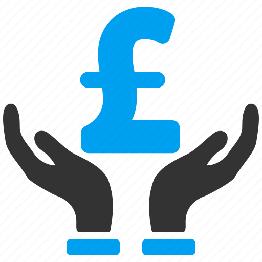 care hands, finance, financial insurance, money, pound sterling, protection, safety icon