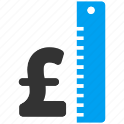 currency, meter, pound sterling, rate, strength, value, wealth icon