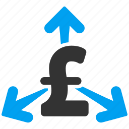 credit, pay, payment, payout, pound sterling, purchase, spend money icon