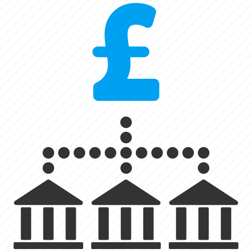 bank payments, business, cash flow, financial holding, network, pound sterling, scheme icon