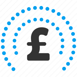 bank safety, bubble, finance, financial shield, guard, pound sterling, sphere icon