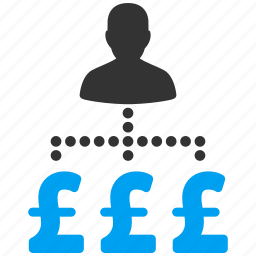british, businessman, expenses, job, payments, pound sterling, user icon