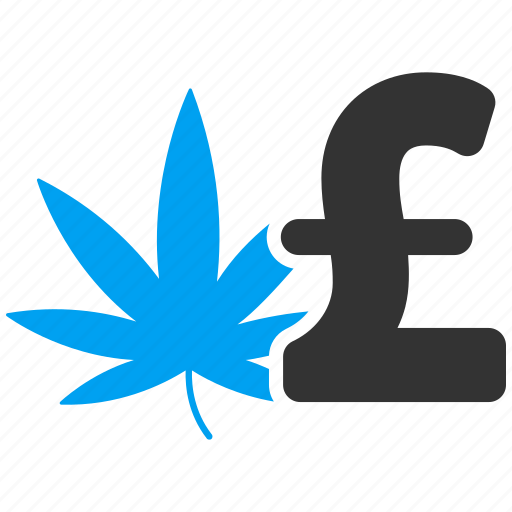 cannabis, drug business, leaf, marijuana, medication, pound sterling, weed icon