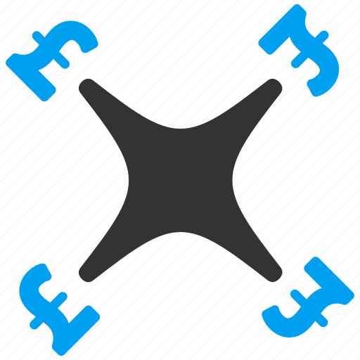 aircraft, business, copter price, drone, nanocopter, pound sterling, quadcopter icon