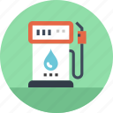 charge, energy, fossil, fuel, gas, gasoline, station icon