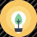 plant, ecology, nature, light, energy, green, bulb
