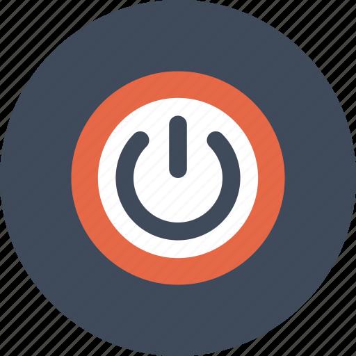 Start, button, off, power, switch, turn icon - Download on Iconfinder