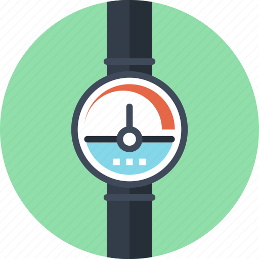 Dashboard, industry, measure, meter, pipe, power, pressure icon - Download on Iconfinder