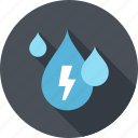 drop, ecology, electricity, energy, nature, power, water icon