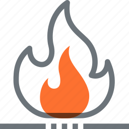 burn, energy, fire, flame, fossil, fuel, hot icon