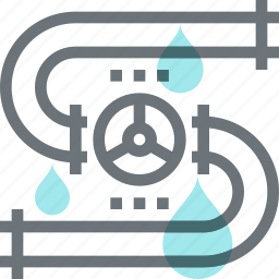 fossil, fuel, gas, oil, pipe, pipeline, transportation icon