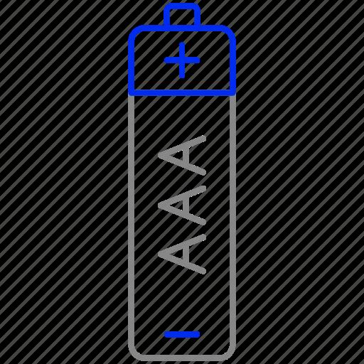 aaa, battery, eco, economic, energy, power icon