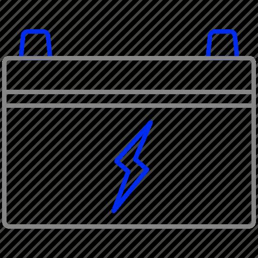 battery, eco, economic, energy, power icon