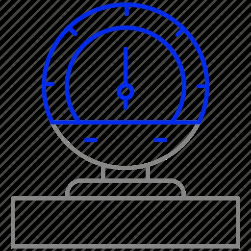energy, instrument, measure, pointer, power, pressure icon