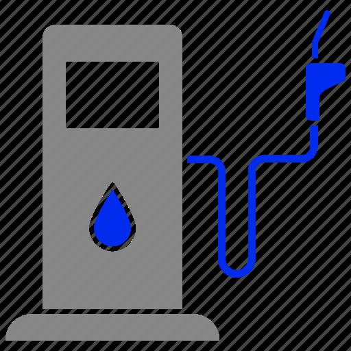 eco, energy, oil, petrol, power, pump icon