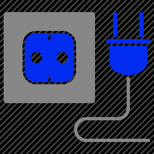 eco, economic, energy, plug, power, socket icon