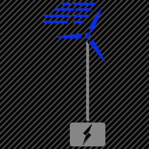 eco, economic, energy, power, wind icon