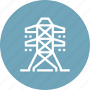 city, electricity, energy, industry, power, powerline, tower