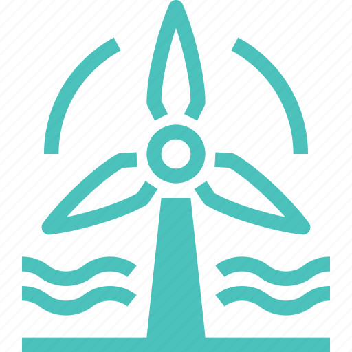 Ecology, electricity, energy, industry, power, turbine, wind icon - Download on Iconfinder