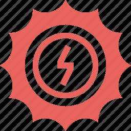 ecology, electricity, energy, nature, power, solar, sun icon
