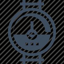 dashboard, industry, measure, meter, pipe, power, pressure icon