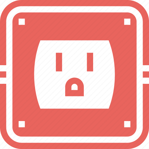 Electric, electricity, energy, outlet, plug, power, socket icon - Download on Iconfinder