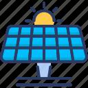 solar, solar energy, solar panel icon