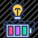 bettery, bulb, energy, power, supply
