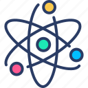 atom, ecology, molecule, nuclear, power icon