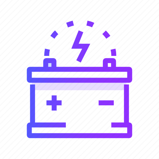 Battery, charge, electricity, energy, power icon - Download on Iconfinder