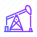 fuel, gas, oil, petrol, pump icon