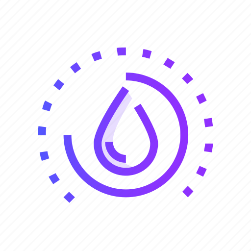 ecology, energy, nature, power, water icon