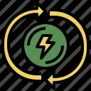 biofuel, ecological, ecology, electronics, energy, power, renewable, technology icon