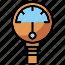 atmospheric, electronics, gauge, industry, measure, meter, needle, pressure, tools, utensils icon