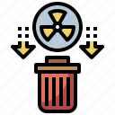 chemical, electronics, energy, gasoline, industry, oil, petrol, petroleum, radioactive, wasts icon