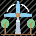 ecologic, ecological, ecology, electronics, energy, eolic, industry, mill, technology, windmill icon