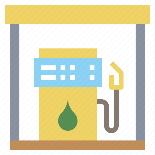electronics, energy, fuel, gas, gasoline, industry, petrol, station icon