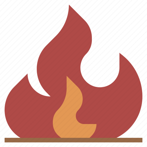 burning, danger, electronics, element, fire, flame, miscellaneous, nature, security icon