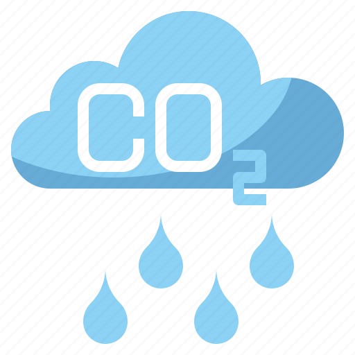 co2, contamination, electronics, industry, pollution icon