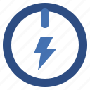 button, electronics, energy, multimedia, on, option, power, start, technology icon
