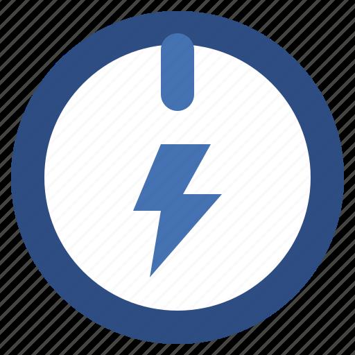 button, electronics, energy, multimedia, on, option, power, start, technology icon