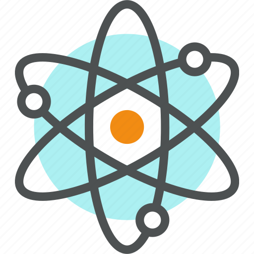 Atom, chemistry, neutron, nuclear, nucleus, physics, proton icon - Download on Iconfinder