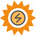 alternative, energy, heat, power, production, solar, source, sun icon
