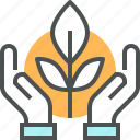 agriculture, care, ecology, grow, harvest, nature, plant, protection icon